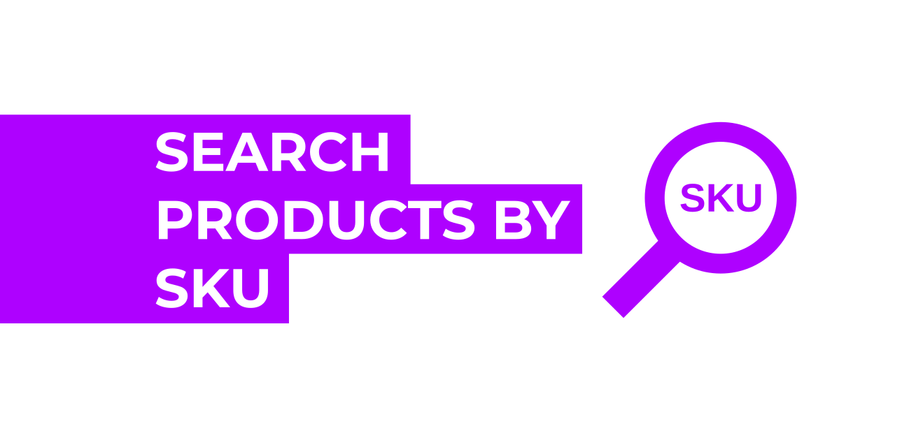 Search products by SKU